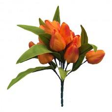 Б035  Букет тюльпанов 11г. 33см