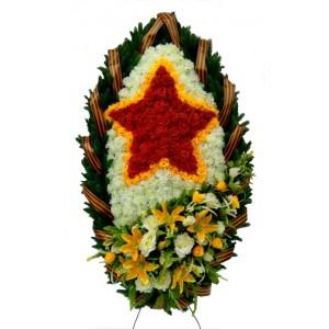 """Венок ритуальный №01 """"Эксклюзив"""""""