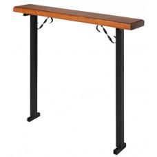 скамейка ритуальная  с деревянным сиденьем