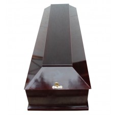 Гроб четырехгранный лакированный МДФ-1