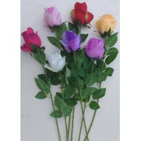 О002 Одиночная роза полубутон 66 см.