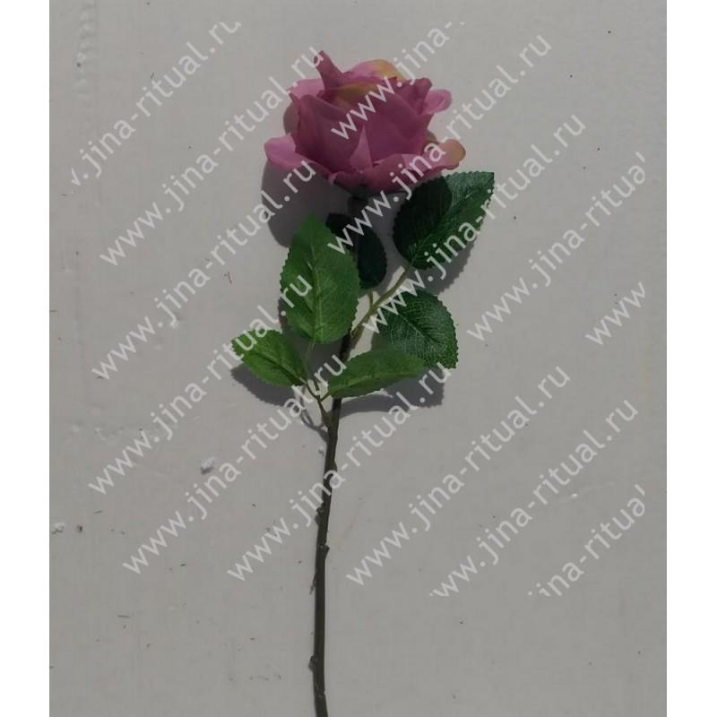 О009 Одиночная роза полубутон 32 см
